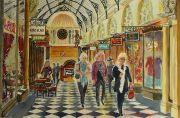 Heading for Coffee, Royal Arcade, Melbourne