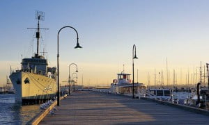 Williamstown Gem Pier with Castlemaine