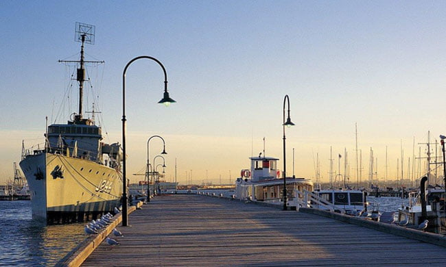 Williamstown Gem Pier with Castlemaine