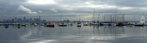 Williamstown Overlooking Melbourne CBD